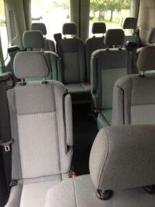 Ford Transit Interior 2015